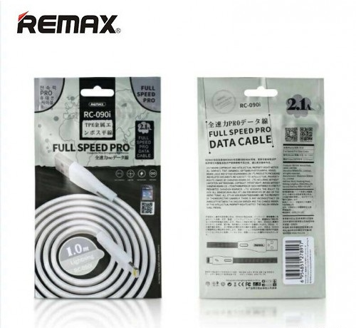 Кабель REMAX Full Speed Pro Data Cable 1M RC-090m for Micro USB (silver)