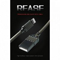 Кабель PRODA Rease Zinc Alloy Data Cable PD-B20 Type-C (Black)