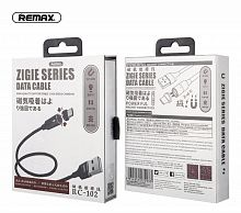 Кабель REMAX Zigie Series Magnet Connection Data Cable RC-102a (Black)
