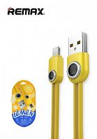 Кабель Remax Lemen Data Cable RC-101i for Lightning (yellow)