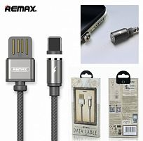 Магнитный кабель REMAX Gravity series Data Cable RC-095i for Lightning (Tarnish)