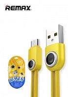 Кабель Remax Lemen Data Cable RC-101m for Micro USB (yellow)