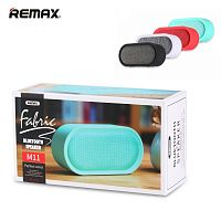 Беспроводная колонка REMAX Desktop Fabric Bluetooth Speaker RB-M11 (blue)