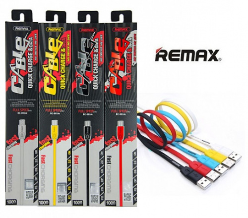 Кабель REMAX Full Speed Micro-USB 1M RC-001m (Red)